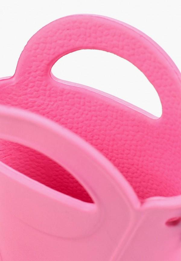 Фото 6 - Резиновые сапоги Каури розового цвета
