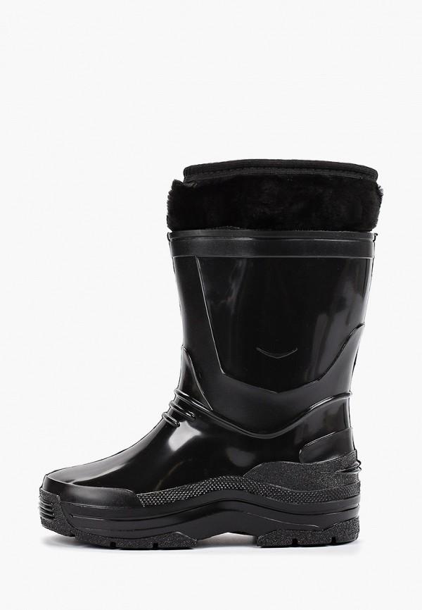 Фото - Резиновые сапоги Каури черного цвета