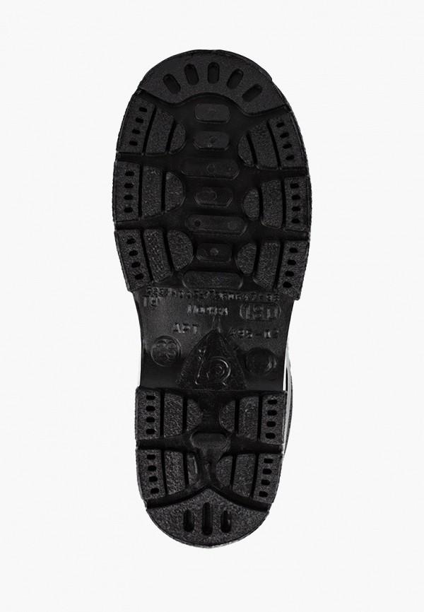 Фото 5 - Резиновые сапоги Каури черного цвета