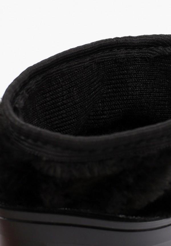 Фото 6 - Резиновые сапоги Каури черного цвета