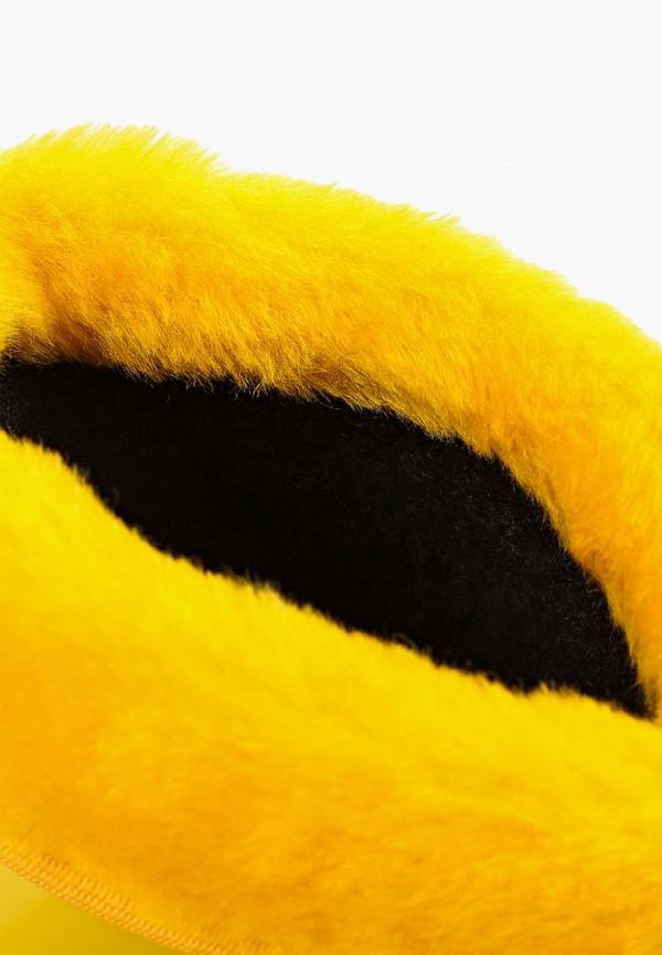 Фото 6 - Резиновые сапоги Каури желтого цвета