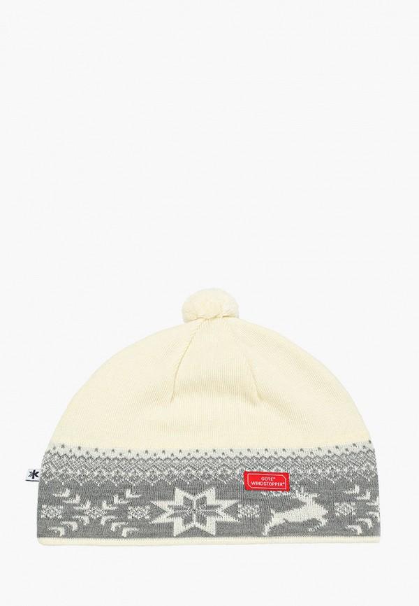 женская шапка kama, белая