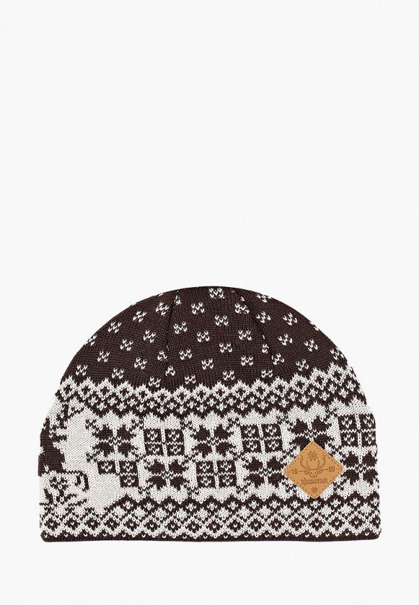 женская шапка kama, разноцветная