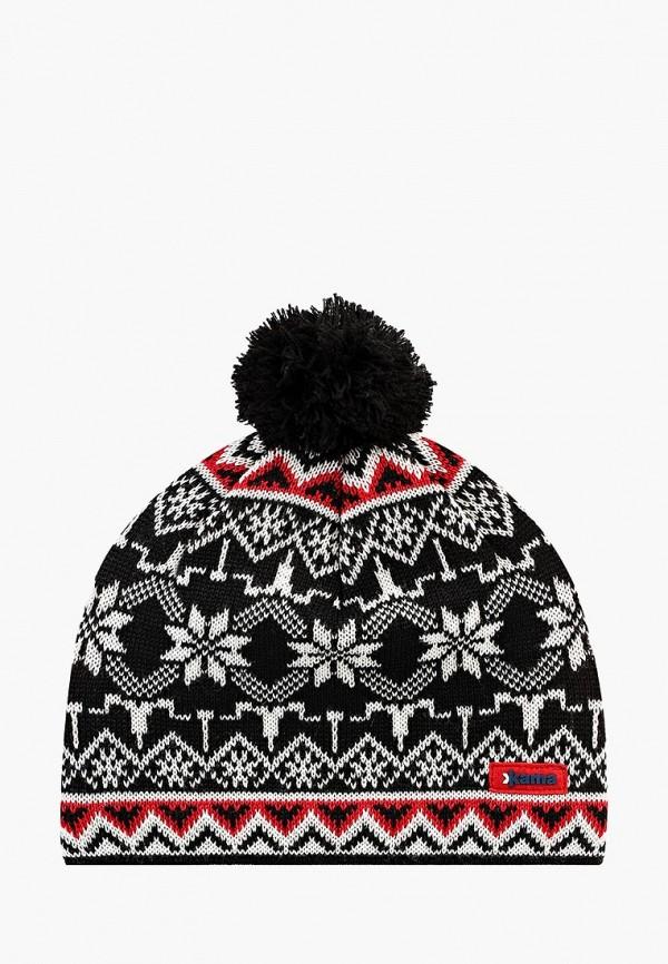 женская шапка kama, черная