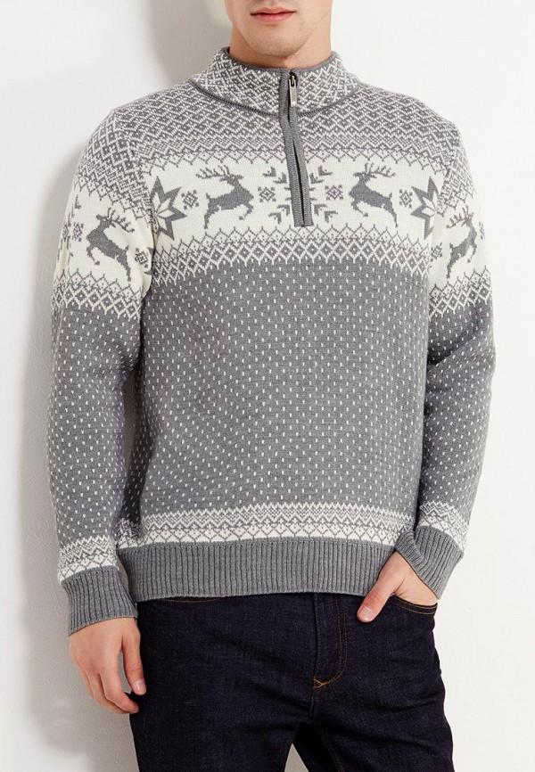 мужской свитер kama, серый