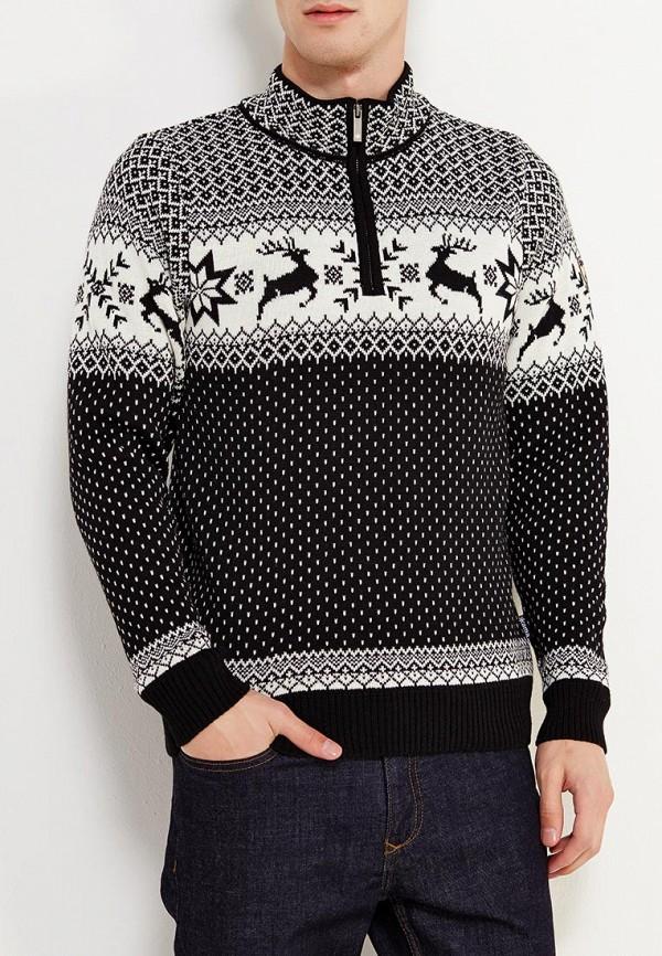 мужской свитер kama, черный