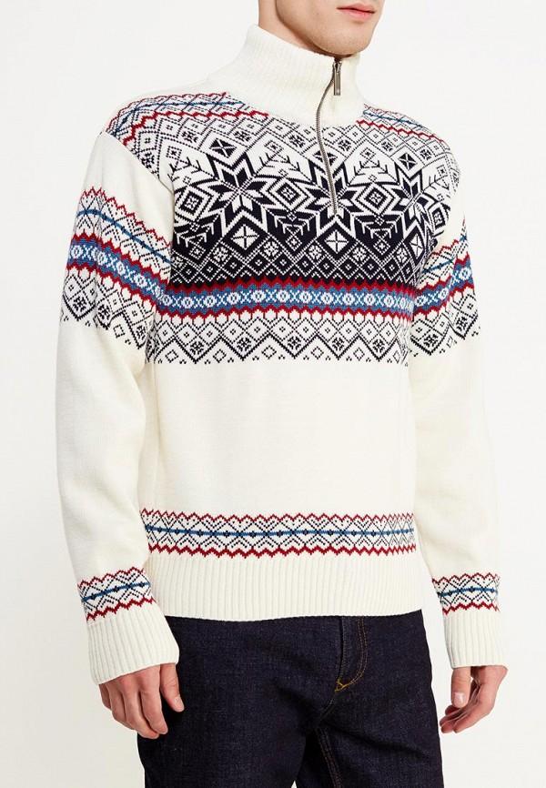 мужской свитер kama, белый