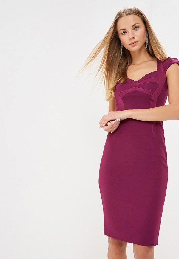 женское вечерние платье karen millen, фиолетовое