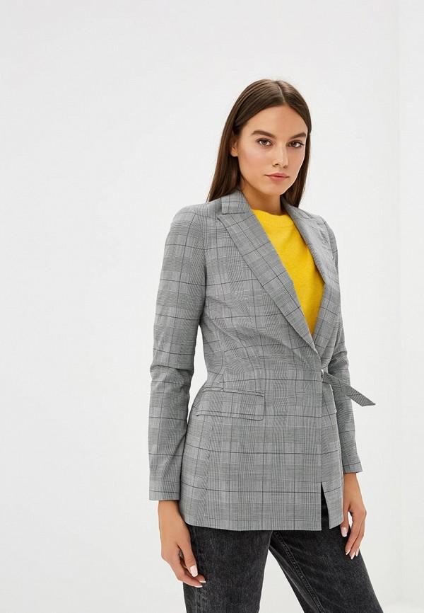 женский пиджак karen millen, серый