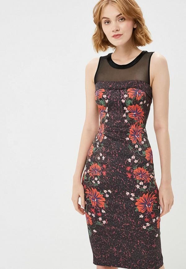 женское повседневные платье karen millen, фиолетовое