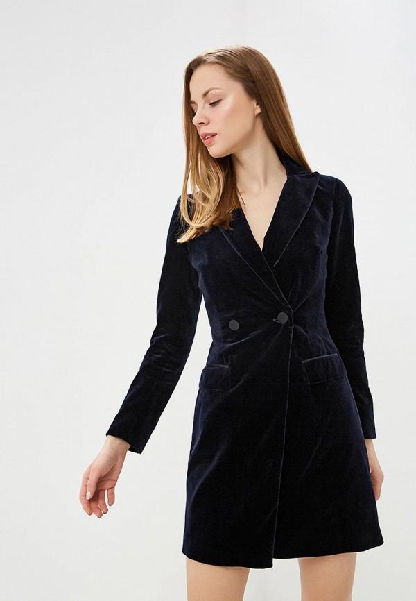 женское платье karen millen, синее