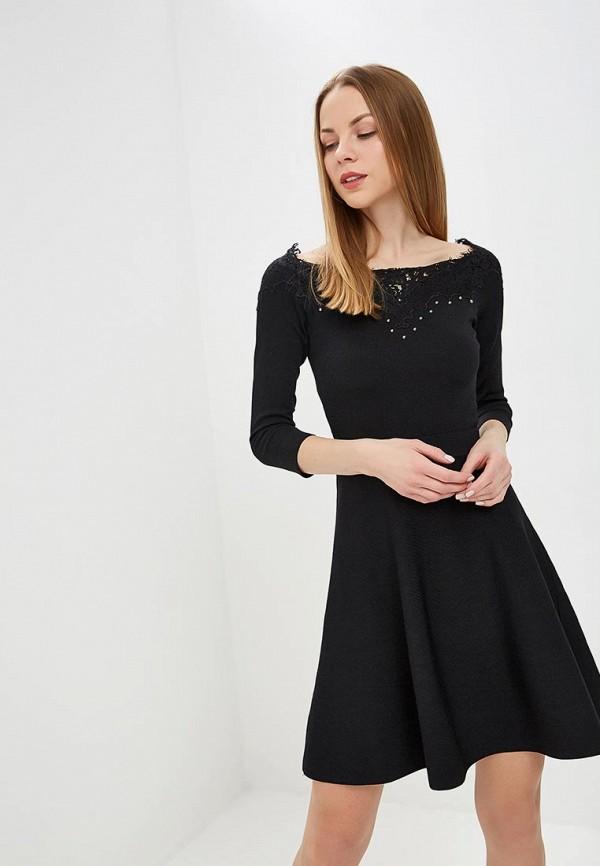 женское повседневные платье karen millen, черное
