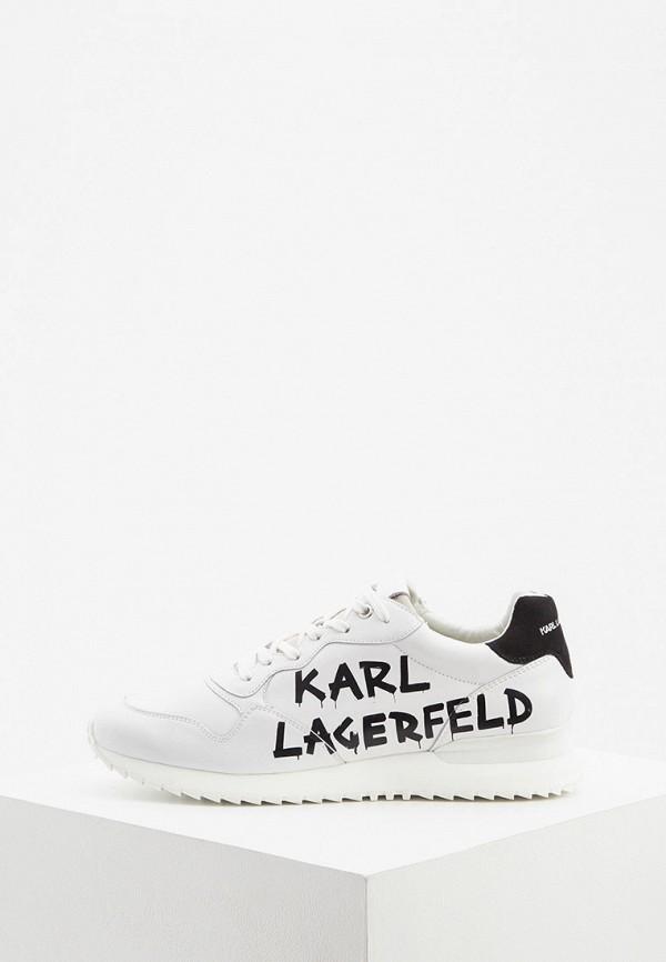 мужские кроссовки karl lagerfeld, белые