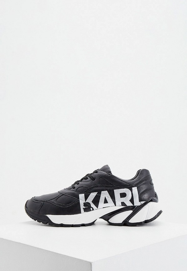 мужские кроссовки karl lagerfeld, черные