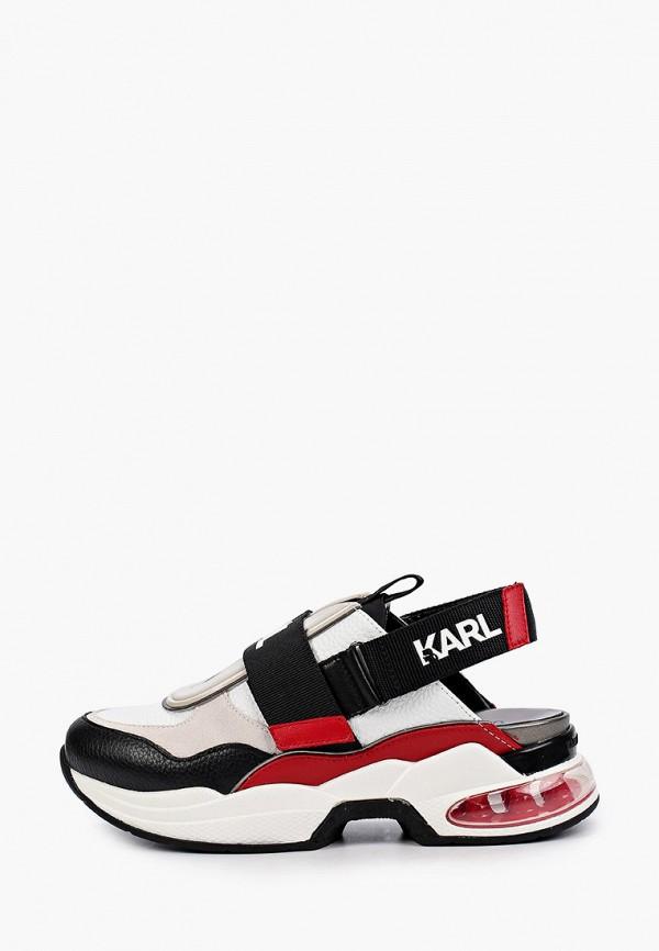 женские кроссовки karl lagerfeld, разноцветные