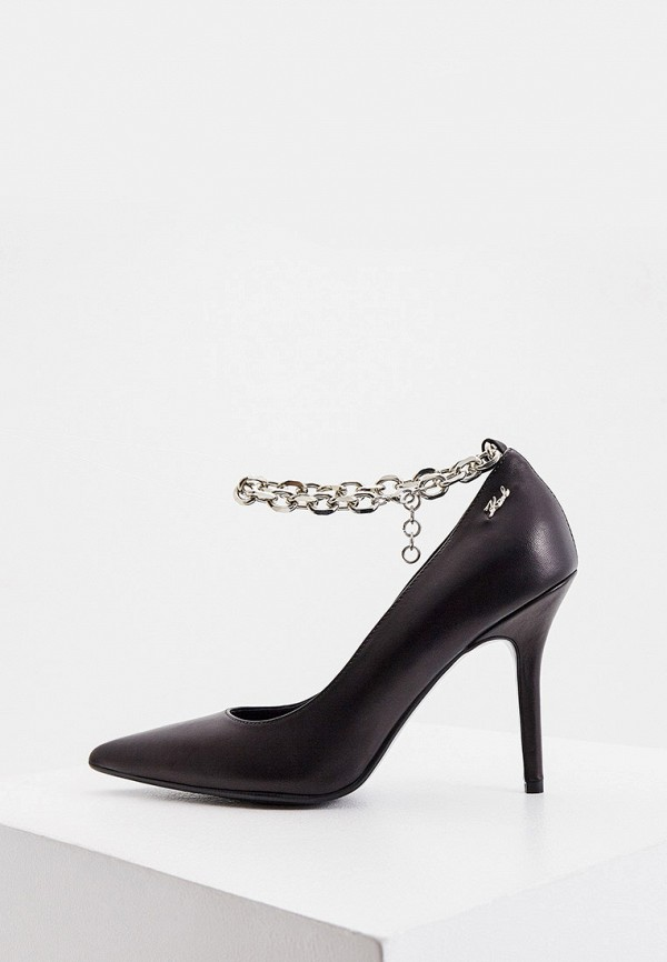женские туфли karl lagerfeld, черные