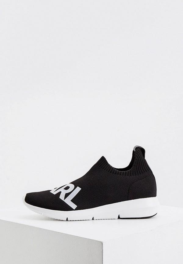 женские кроссовки karl lagerfeld, черные