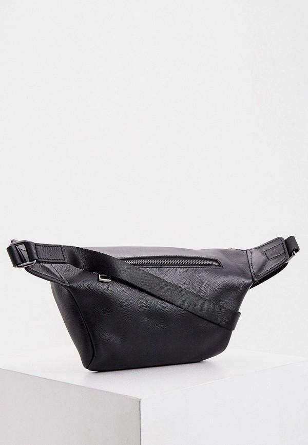 мужская сумка karl lagerfeld, черная