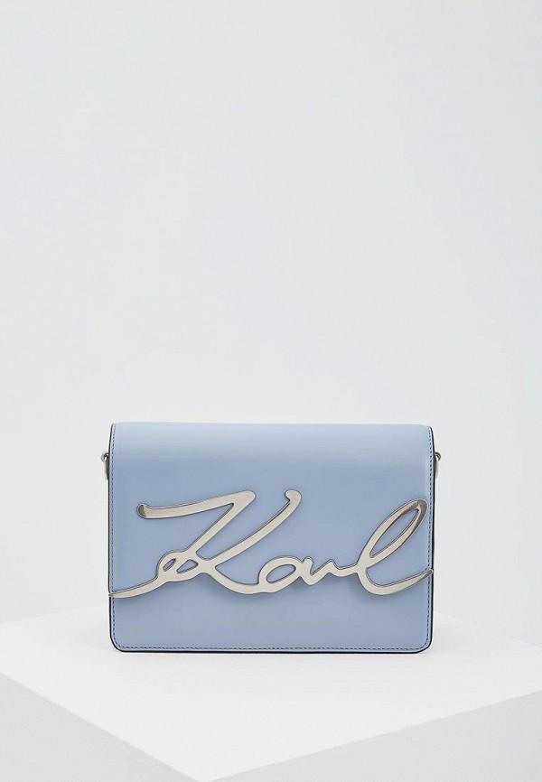 Сумка Karl Lagerfeld Karl Lagerfeld KA025BWAUOU2 karl lagerfeld чехол крышка karl lagerfeld для apple iphone 6 6s силикон голубой soft case