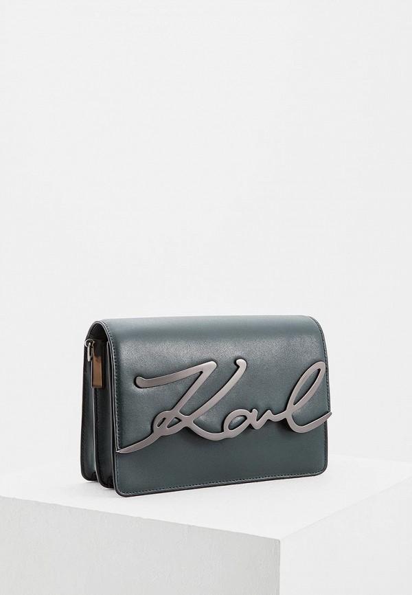 Сумка Karl Lagerfeld Karl Lagerfeld KA025BWBRNK9 цены онлайн
