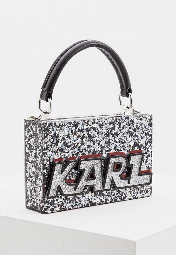 Клатч Karl Lagerfeld Karl Lagerfeld KA025BWBRNM9 джемпер lagerfeld 656005 672399 941