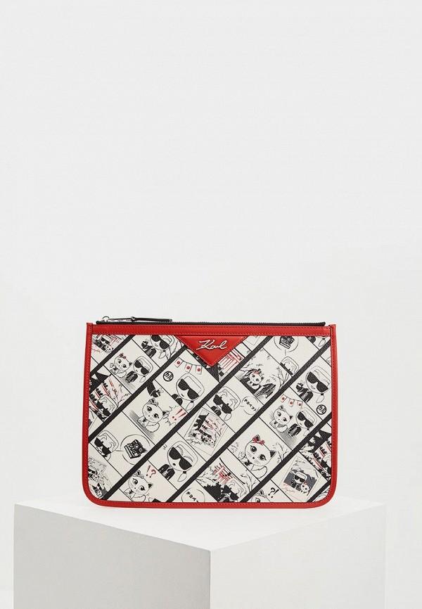 купить Клатч Karl Lagerfeld Karl Lagerfeld KA025BWDLFR1 дешево