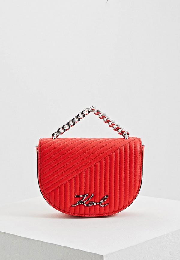 Сумка Karl Lagerfeld Karl Lagerfeld KA025BWEGPO1 цена 2017