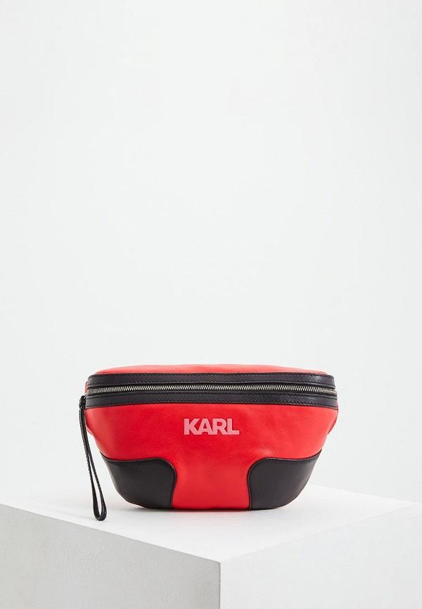 Сумка поясная Karl Lagerfeld Karl Lagerfeld KA025BWEGPO3 сумка karl lagerfeld karl lagerfeld ka025bwuss79 page 2