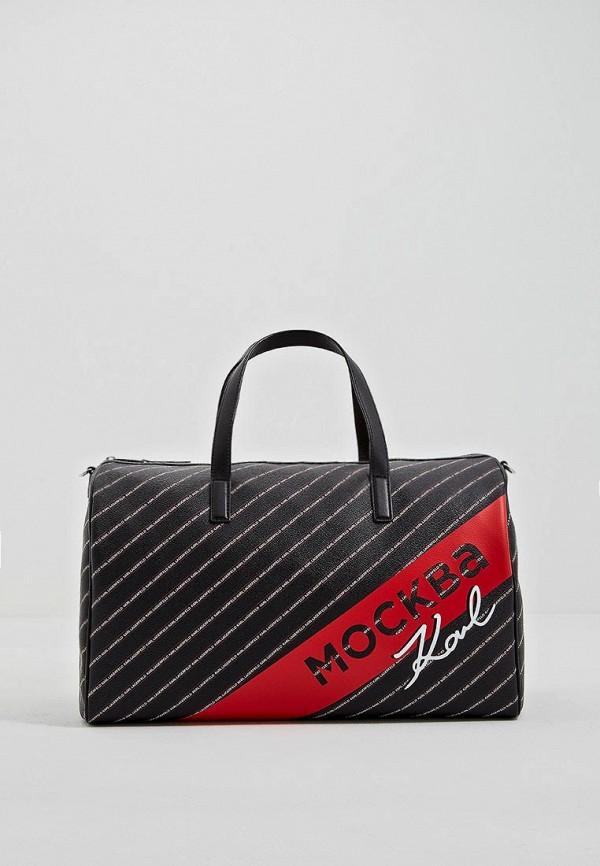 цена Сумка дорожная Karl Lagerfeld Karl Lagerfeld KA025BWEGPO6 онлайн в 2017 году