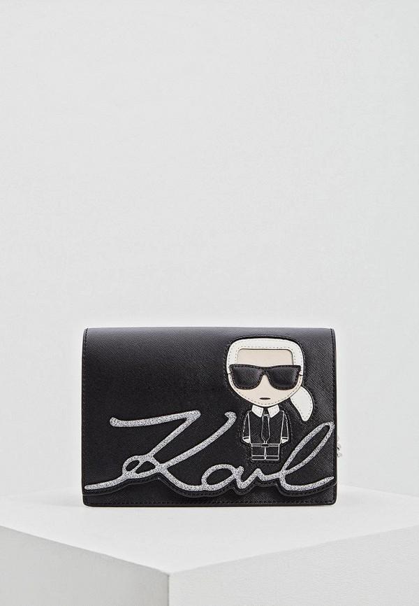 цена Сумка Karl Lagerfeld Karl Lagerfeld KA025BWEGPP9 онлайн в 2017 году