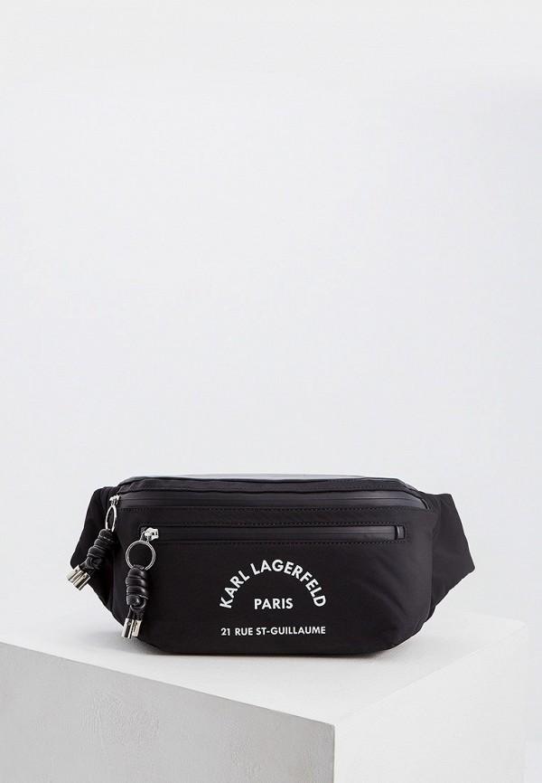 цена Сумка поясная Karl Lagerfeld Karl Lagerfeld KA025BWFRDE6 онлайн в 2017 году