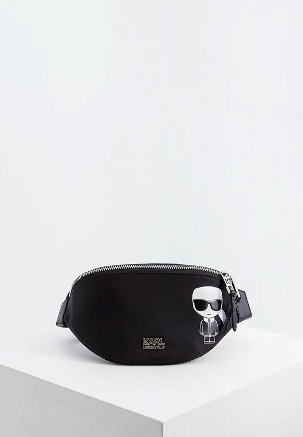 Сумка поясная Karl Lagerfeld Karl Lagerfeld KA025BWFRDF7 все цены