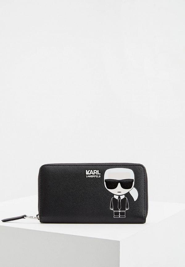 Кошелек Karl Lagerfeld Karl Lagerfeld KA025BWFRDG2 цена 2017