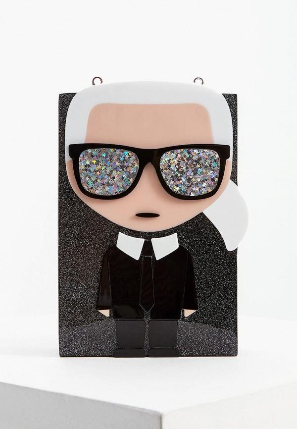 купить Клатч Karl Lagerfeld Karl Lagerfeld KA025BWFRDH8 дешево