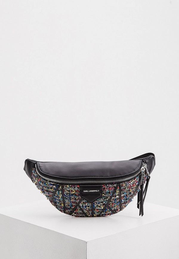женская поясные сумка karl lagerfeld, разноцветная