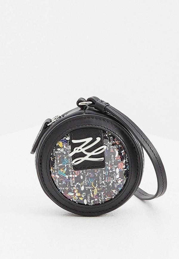 женский кошелёк karl lagerfeld, разноцветный