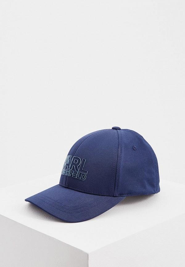 Бейсболка Karl Lagerfeld Karl Lagerfeld KA025CMEHWQ8 цена