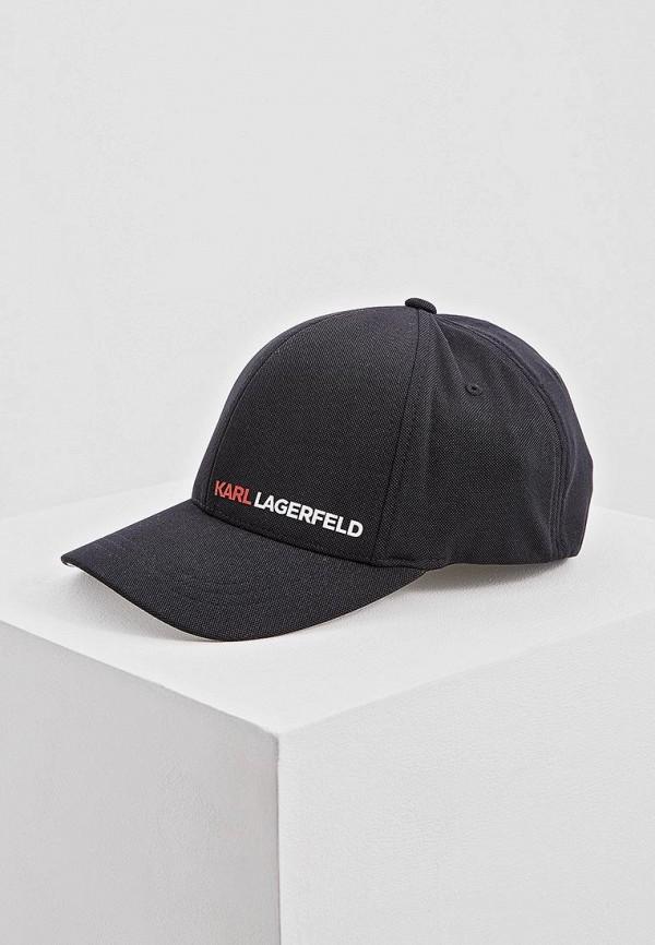 Бейсболка Karl Lagerfeld Karl Lagerfeld KA025CMEHWQ9 цена
