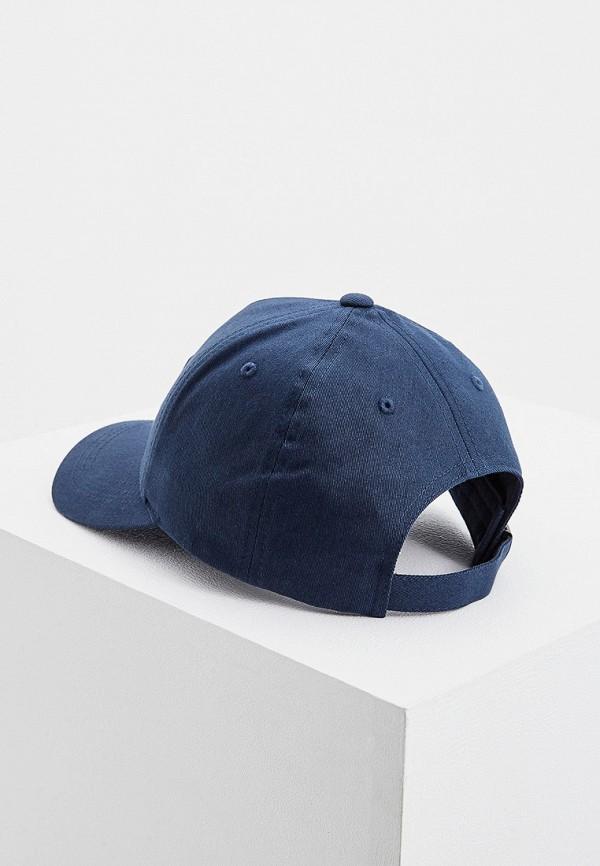 Фото 2 - мужскую бейсболку Karl Lagerfeld синего цвета