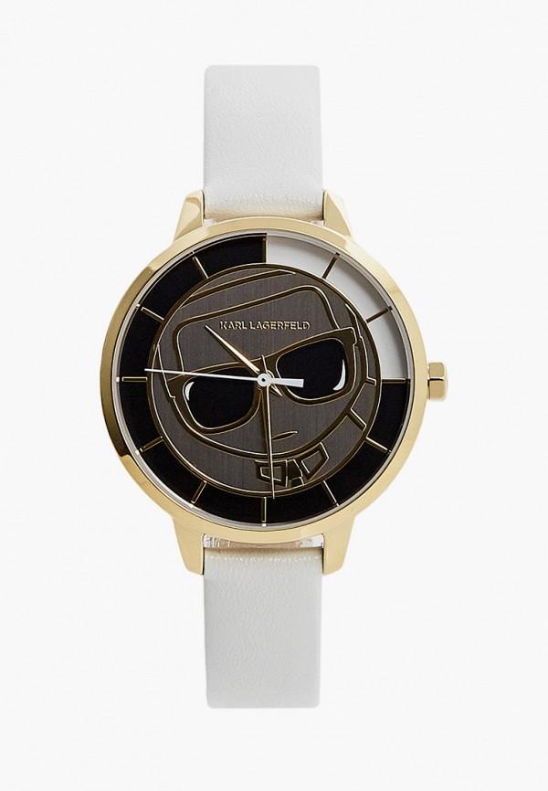 женские часы karl lagerfeld, белые