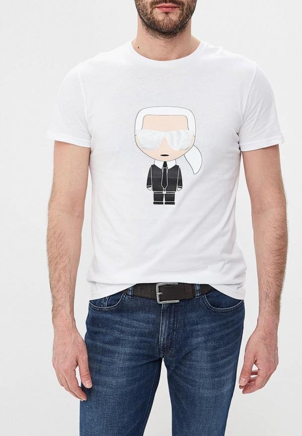 Фото - Футболка Karl Lagerfeld Karl Lagerfeld KA025EMEHWM6 karl lagerfeld блузка