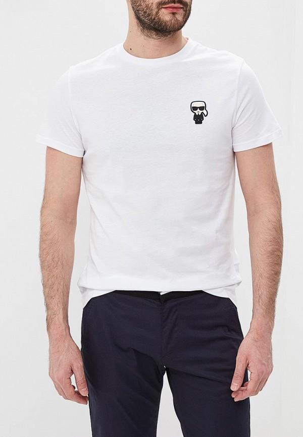 Фото - Футболка Karl Lagerfeld Karl Lagerfeld KA025EMEHWM9 футболка karl lagerfeld karl lagerfeld ka025ewbrnw8