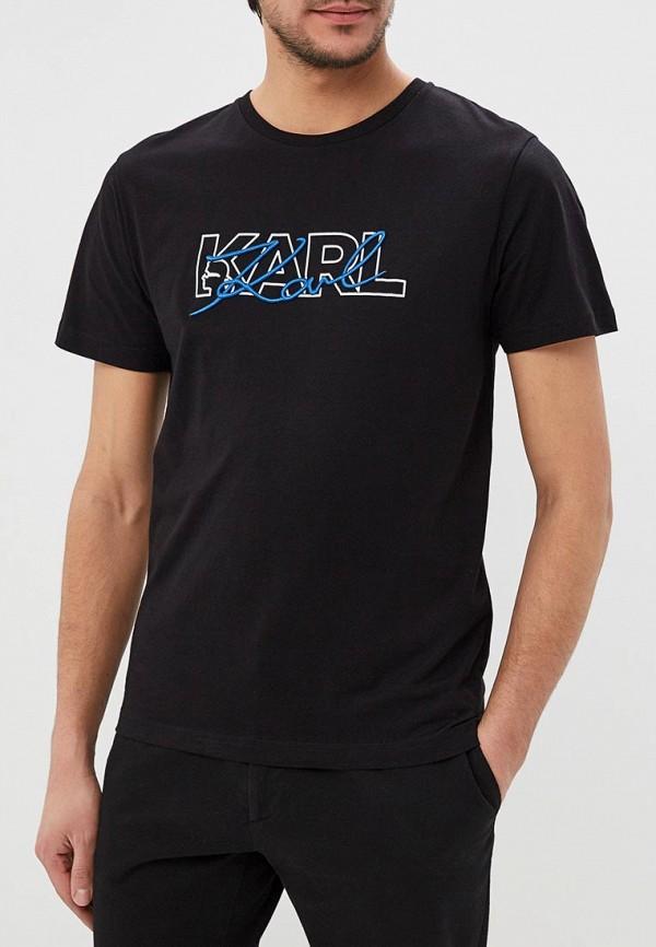 Фото - Футболка Karl Lagerfeld Karl Lagerfeld KA025EMEHWN2 футболка karl lagerfeld karl lagerfeld ka025ewbrnw8