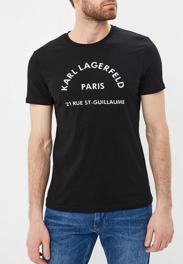 цена Футболка Karl Lagerfeld Karl Lagerfeld KA025EMEHWN6 онлайн в 2017 году