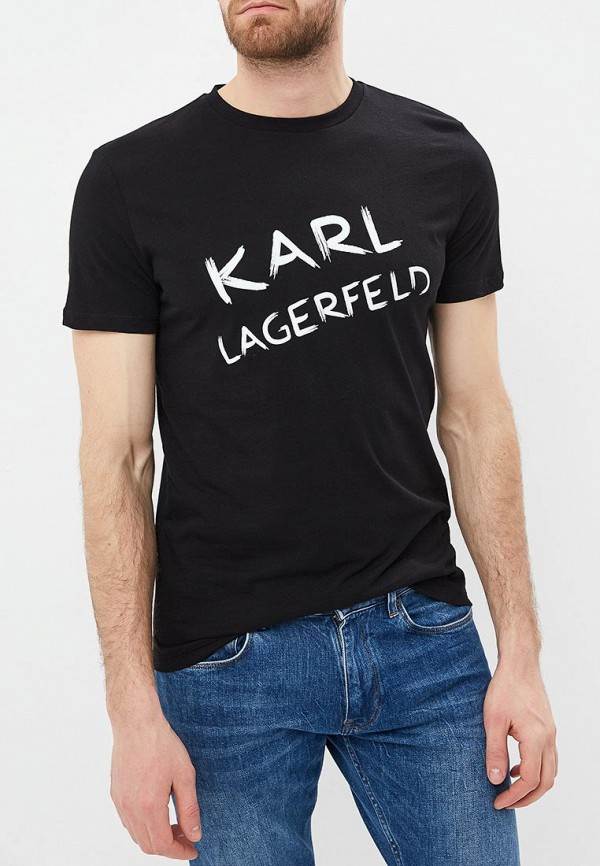 Футболка Karl Lagerfeld Karl Lagerfeld KA025EMEHWN8 цена