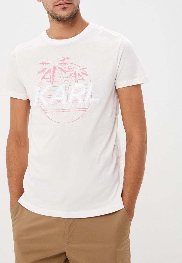 Футболка Karl Lagerfeld Karl Lagerfeld KA025EMFHNM0 футболка karl lagerfeld karl lagerfeld ka025emehwn4