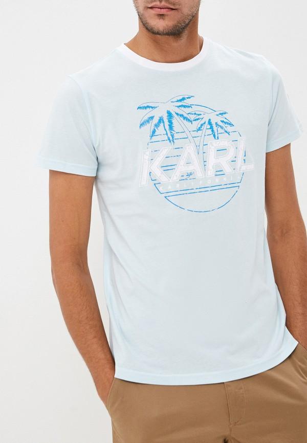 Футболка Karl Lagerfeld Karl Lagerfeld KA025EMFHNM1 футболка karl lagerfeld karl lagerfeld ka025emehwn4