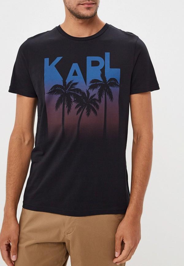 Фото - Футболка Karl Lagerfeld Karl Lagerfeld KA025EMFHNM6 футболка karl lagerfeld karl lagerfeld ka025ewbrnw8
