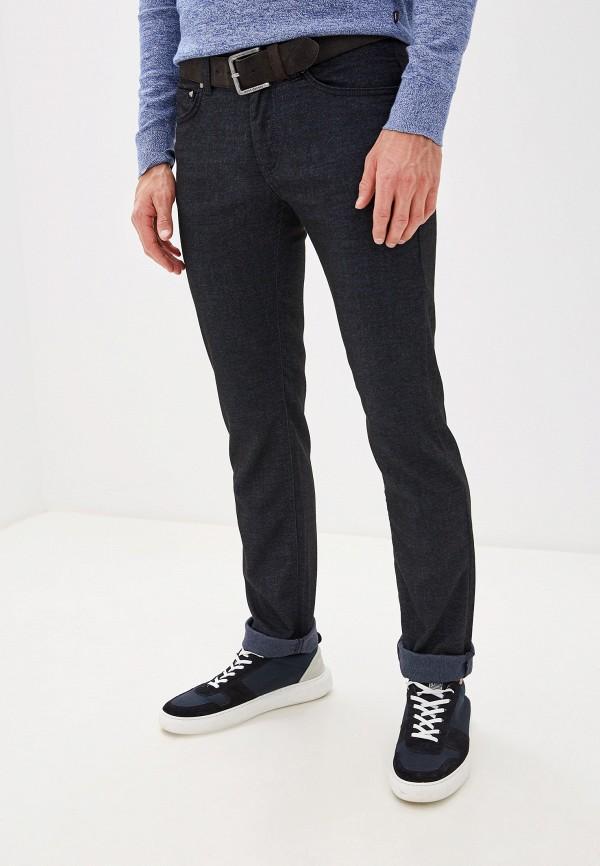 мужские повседневные брюки karl lagerfeld, синие