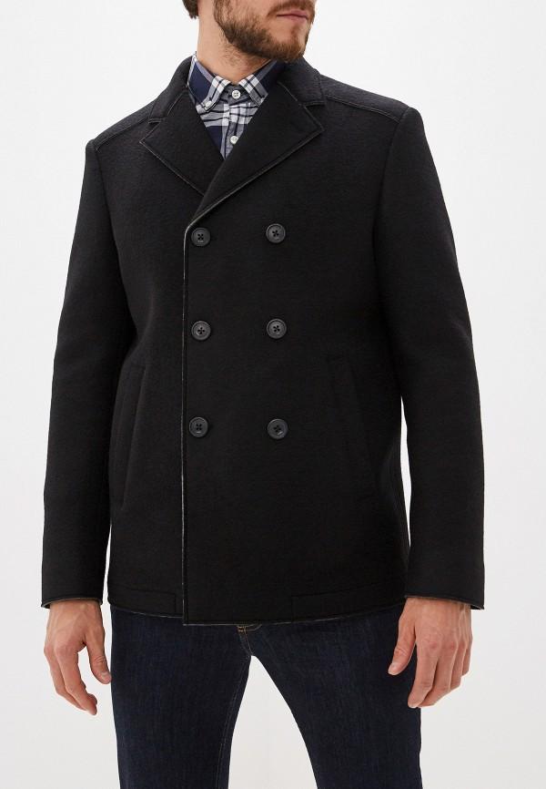 мужское пальто karl lagerfeld, черное